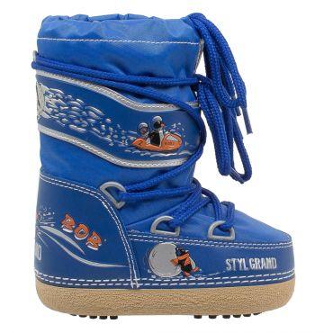 Styl Grand - Bob - Doposci Boot in nylon unisex per bimbi e ragazzi