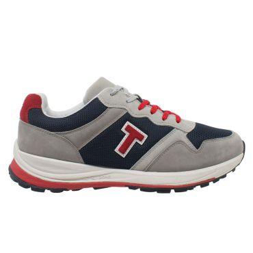 T-Shoes - Strolling Sport TS070 - sneaker in mesh- pelle scamosciata e nubuck