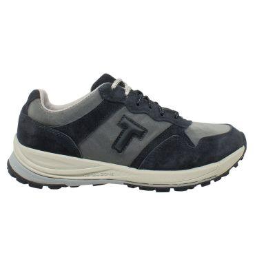 T-Shoes - Strolling Sport TS066 - sneaker in mesh- pelle scamosciata e nubuck